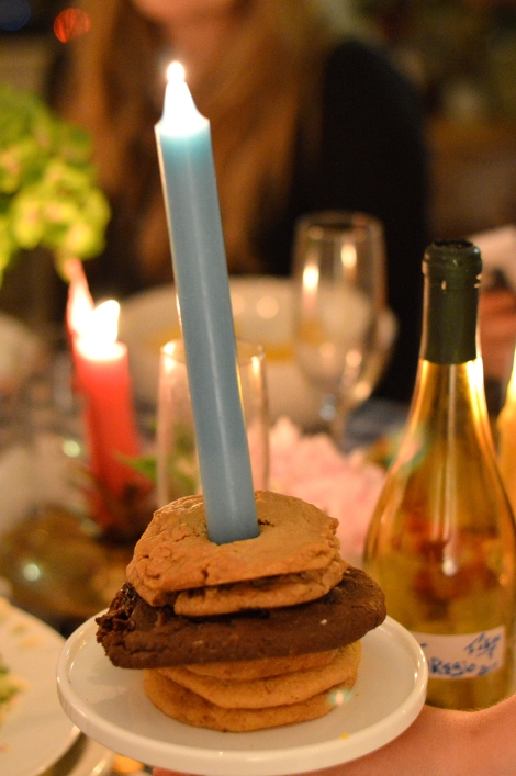cookies-with-candle